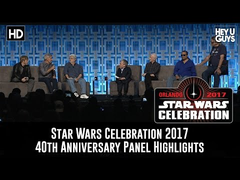 Star Wars Celebration 40th Anniversary Panel Highlights - George Lucas, Harison Ford, Mark Hamill
