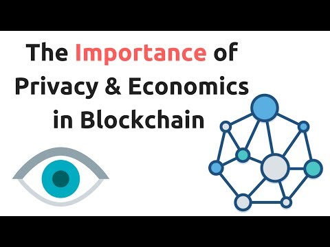 The Importance of Privacy & Economics in Blockchain