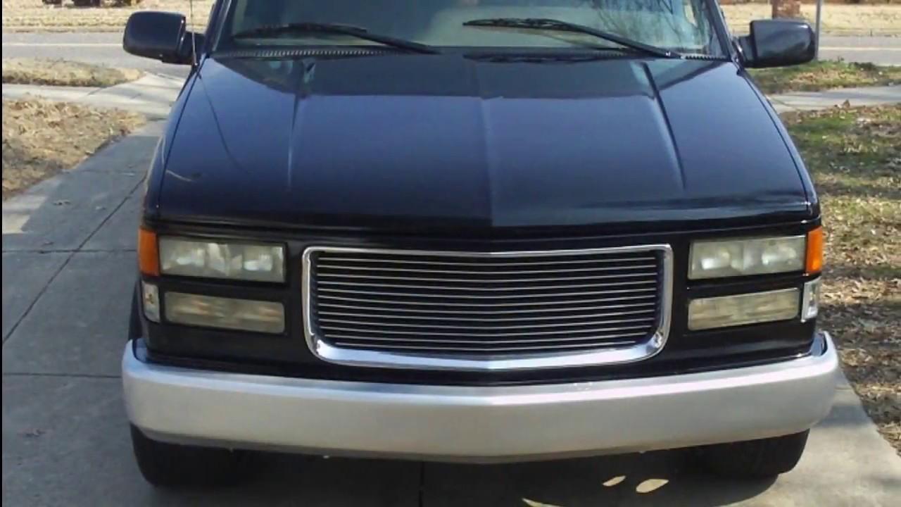Truck 1998 custom chevy trucks : 96' Silverado Lowered on 24s - YouTube