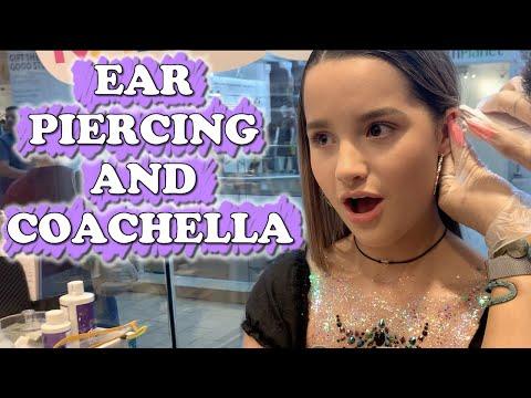 Ear Piercing And Coachella (WK 434) Bratayley