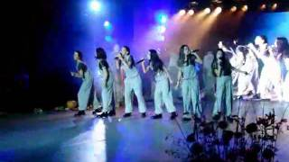 Princesses (Georgia) performing entries of other countries - Junior Eurovision 2009