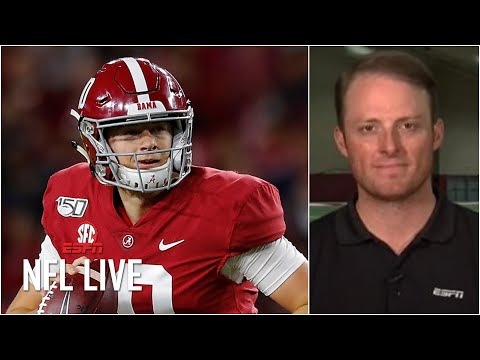 Breaking down Mac Jones' second pro day at Alabama   NFL Live