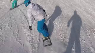 Эльбрус. Мочилово на лыжах Гарабаши-Азау. Клип