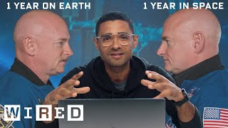 NASA's Twin Space Experiment Explained | WIRED