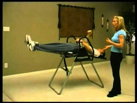 inversion table instructions video