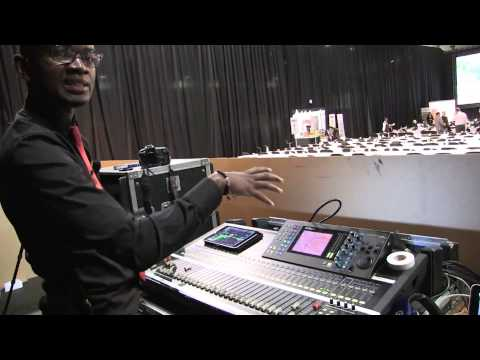 Remember Chaitezvi Doing Sound For Human Settlement Conference in Sandton South Africa