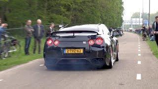 Supercars Accelerating LOUD! Nissan GT-R, Aventador LP750 SV, SLR, GT3