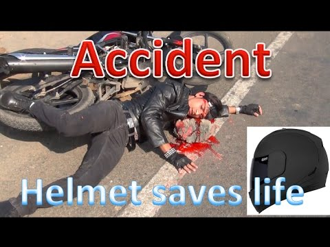 ACCIDENT WITHOUT HELMET: SAFETY AWARENESS