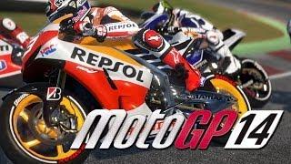 MotoGP 14 Walkthrough Part 1 - Career Mode THIS IS INTENSE - PS4