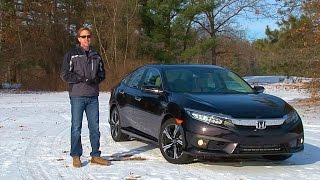 2016 Honda Civic - TestDriveNow.com Review by Auto Critic Steve Hammes