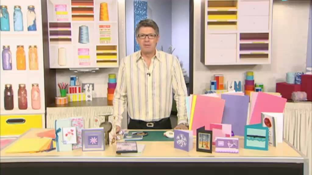 Create and craft tv presenter dean wilson youtube for Diy crafts youtube channels