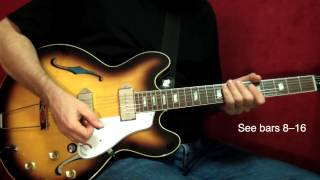 Brown Sugar (Part 1) - The Rolling Stones - Guitar