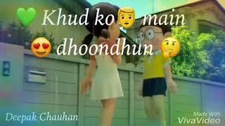 Chehre me tere   Sad 😭 Love ❤️ Beautiful Song   Whatsapp Status Video   downlod