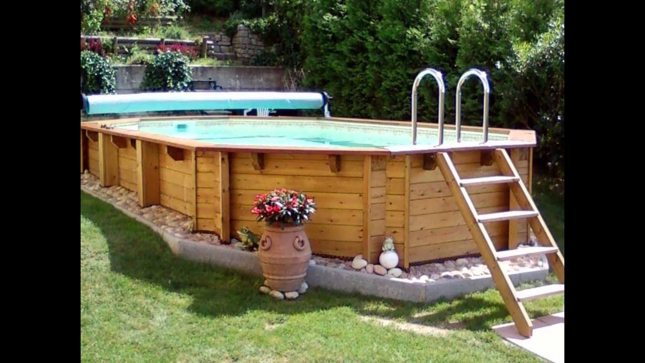 Realizzazione di piscine youtube - Realizzazione rivestimento esterno piscina fuori terra ...