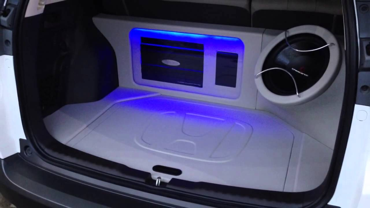 Audio mobil Honda CRV | Flux | Arc | Crescendo | Innovation car audio jakarta - YouTube