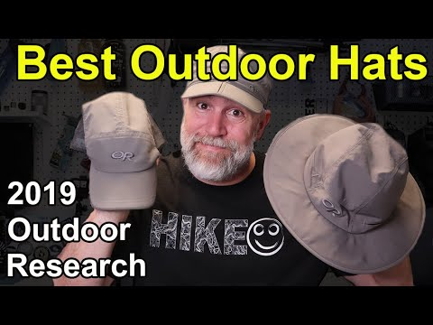 BEST Hats for Summer the Outdoor Research Radar, Swift and Helios Models