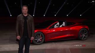 New Tesla Roadster 2020  Elon Musk has finally unveiled it!
