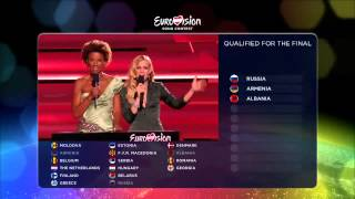 Eurovision Song Contest 2015 - Semifinal 1 qualifiers