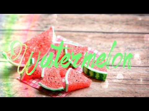 DIY - How to Make: Doll Watermelon - Handmade - Doll - Crafts