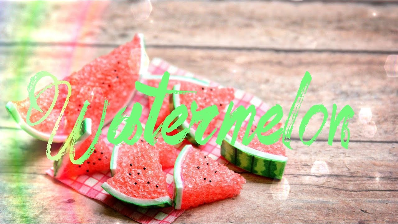 Diy How To Make Doll Watermelon Handmade Doll Crafts Youtube