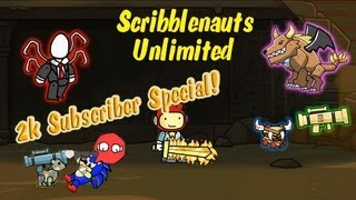 Scribblenauts Unlimited Wii U Object Editor Creations [2,000 Subscriber Special]