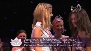 Michelle Bergh ~ Miss Preteen National Sweetheart 2012