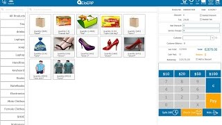 Eloerp point of sale is a complete multipurpose pos application, which can be used for all retail industries. industries -retail stores -cloths / garm...