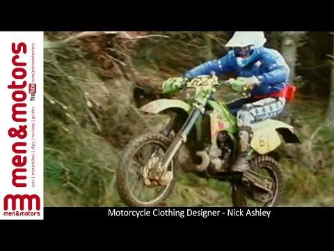 Motorcycle Clothing Designer - Nick Ashley
