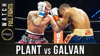 Plant vs Galavan FULL FIGHT: June 3, 2016 - PBC on Spike