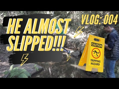 HE ALMOST SLIPPED // VLOG 004