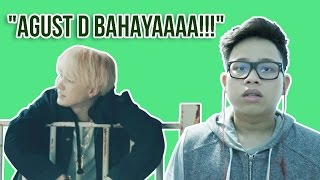 AGUST D AGUST D AND GIVE IT TO ME MV REACTION GOKS