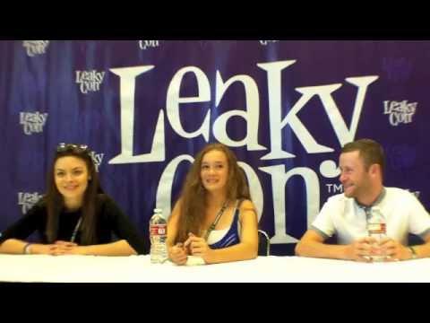 LeakyCon s: Ellie DarceyAlden, Scarlett Byrne, & Devon Murray