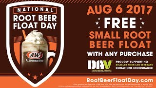 National Root Beer Float Day 2017