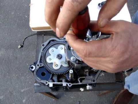 TaoTao 125cc clutch install - YouTube