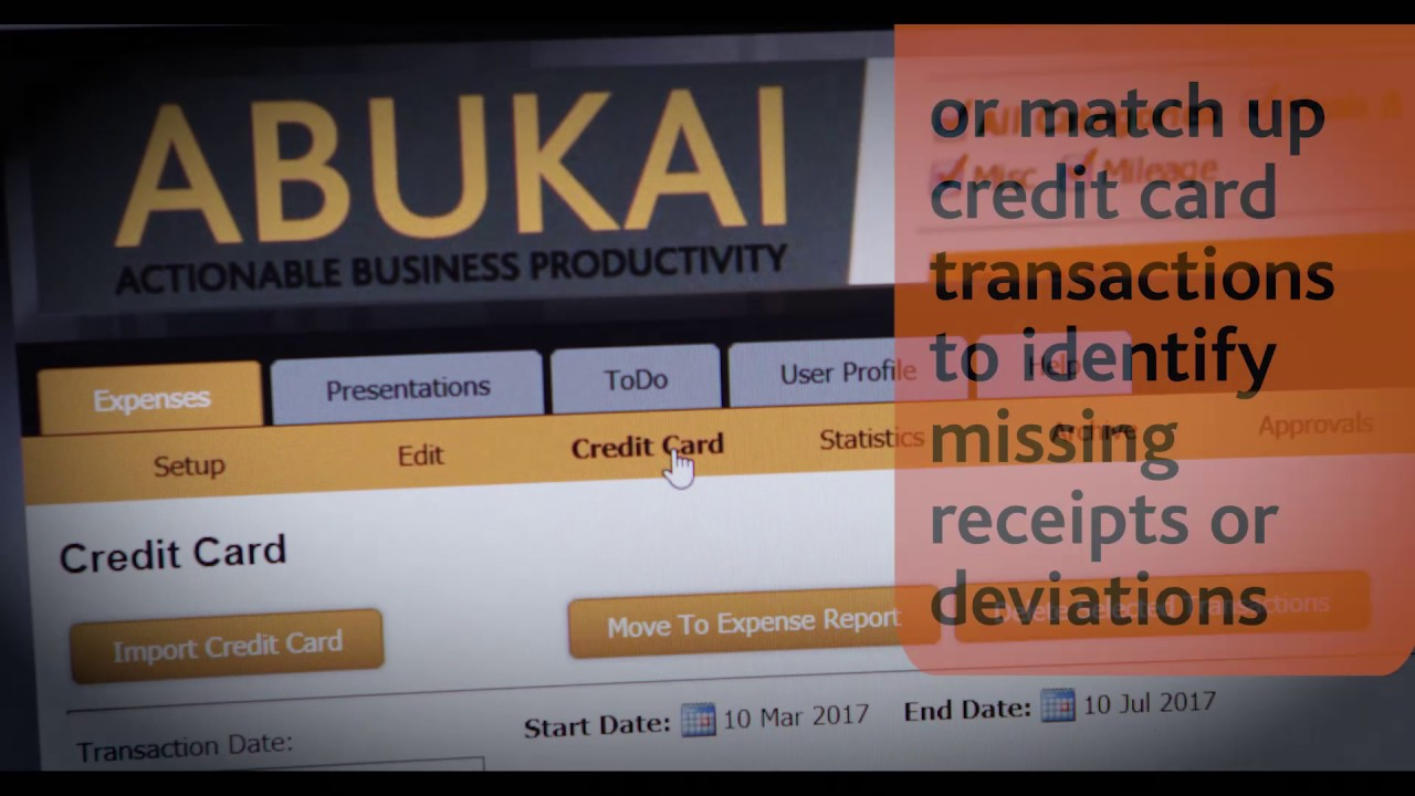 expense reporting with abukai expenses business software expense