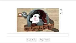 Google Doodle - 05.05.2015 -  Happy Birthday (151th) Nellie Bly/Elizabeth Jane Cochran