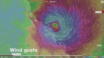 🇦🇺⚠ Tropical Cyclone Debbie (27 March 2017)