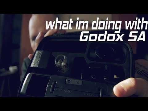 What Im doing with Godox SA // Vlog // canon m50