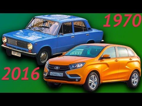 """Эволюция всех автомобилей Lada. Как менялись автомобили """"АвтоВаз""""."""