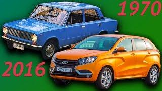 Эволюция всех автомобилей Lada. Как менялись автомобили