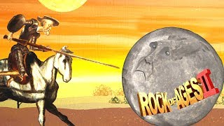Crazy Attack Windmills of Don Quixote ! - Rock of Ages 2: Bigger and Boulder Gameplay