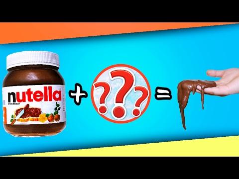 diy essbare nutella knete aus 2 zutaten knete einfach selber machen deutsch youtube. Black Bedroom Furniture Sets. Home Design Ideas