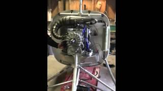 Moteur rotax 947 sur giro, deuxième demarrage