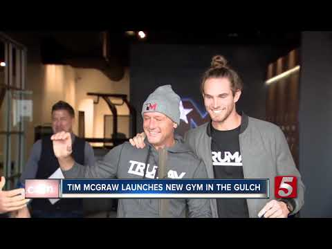 Tim McGraw opens new boutique gym in Nashville Mp3