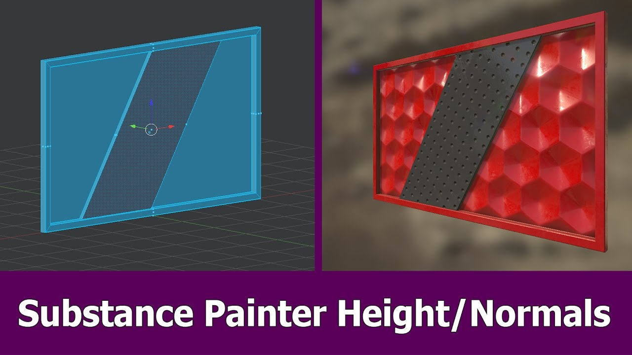 Substance Painter Normal Map Painting Tutorial