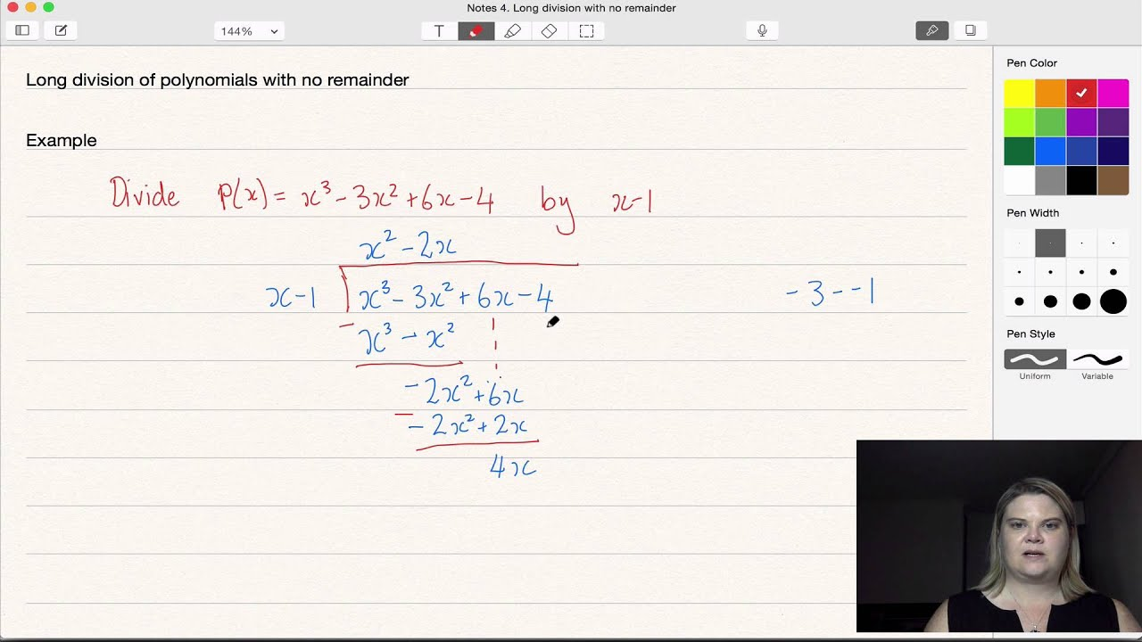Long division of polynomials no remainder YouTube – Polynomial Long Division Worksheets