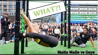 Malin malle vs Guys - street workout competition