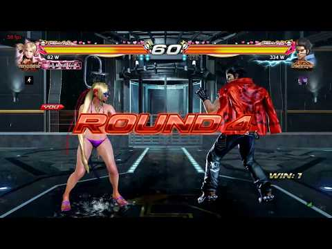 Dnische gaming - Lucky Chloe vs hwoarang