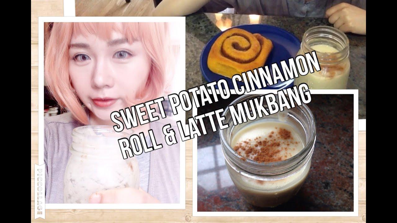 Vegan) Sweet Potato Cinnamon Roll