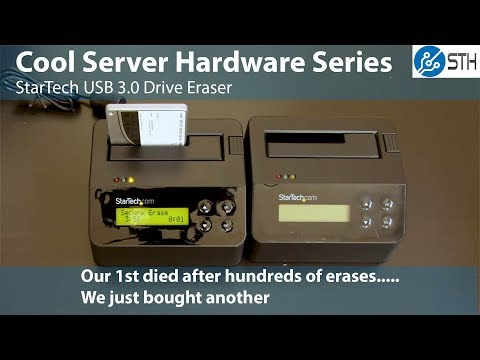 StarTech USB 3.0 Drive Eraser Overview SDOCK1EU3P